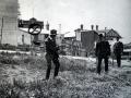 Shooting reconstruction, 1912 Waihi strike
