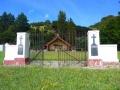 Waiomatatini Marae memorial gates