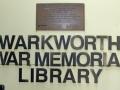 Warkworth War Memorial Library