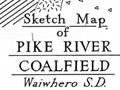 Pike River coalfield map