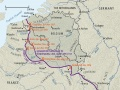 The Western Front 1916-1917 map