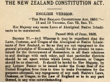 New Zealand Constitution Act comes into force