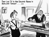 New Zealand's first official TV broadcast