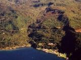 Devastating landslide at Lake Taupō