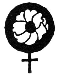 Flower inside a women