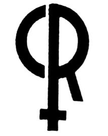 Styalised R and women