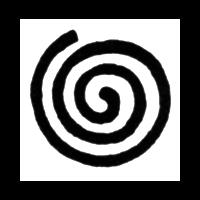 Spiralling line